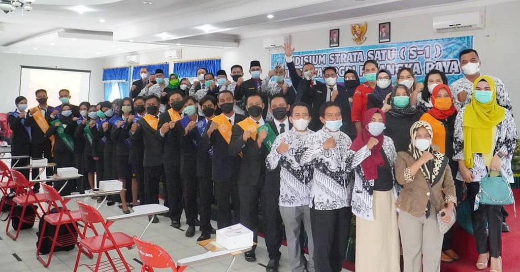 Universitas PGRI Palangka Raya Menyelenggarakan Yudisium Semester Genap Tahun Akademik 2020/2021